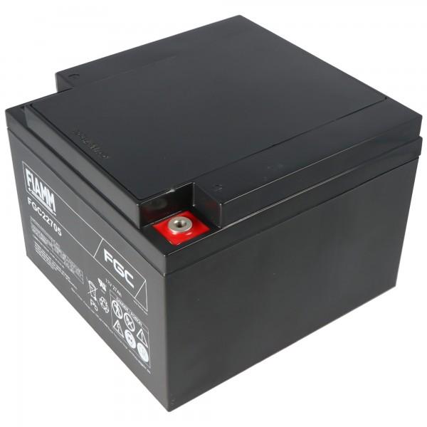 Fiamm FGC22705 loodbatterij 12 volt 27000 mAh met M5-schroefverbinding
