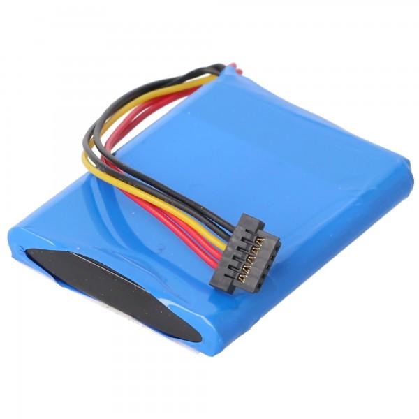 Batterij geschikt voor de TomTom XL Live-batterij, AHL03713005, VF3A, VF3M