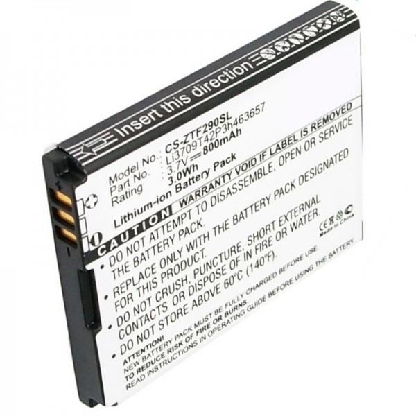 ZTE F290 vervangende batterij van AccuCell