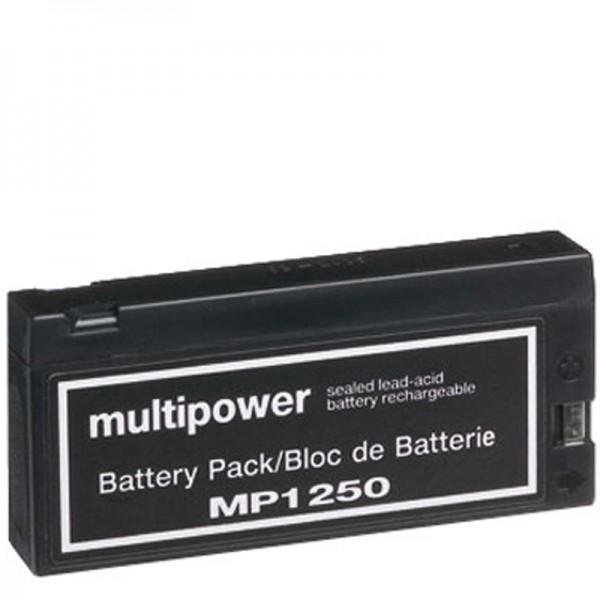 AccuCell-batterij geschikt voor Panasonic VW-VBF2E, LC-SD122P, JVC BN-V90