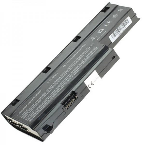 Medion Akoya P7612 replica batterij MD97860 batterij met 4400 mAh van AccuCell