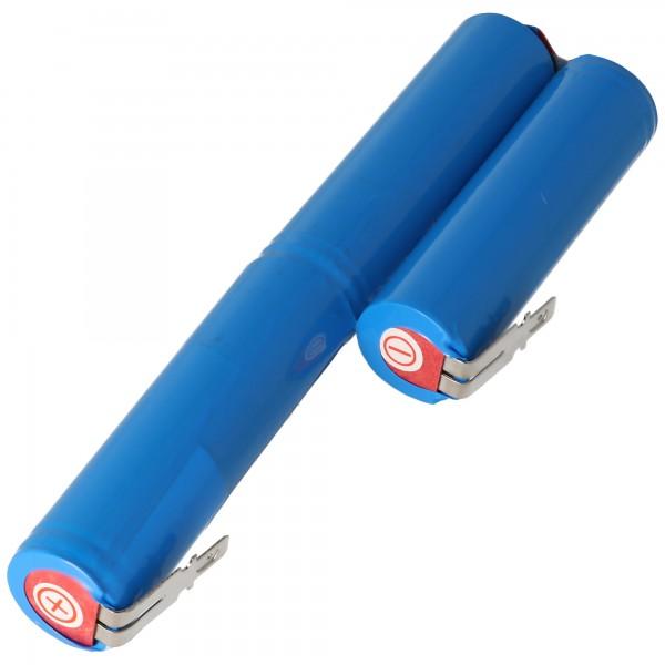 Accu100 batterij geschikt voor Gardena Accu 100 Li-ion batterij 10,8 volt met 1400 mAh