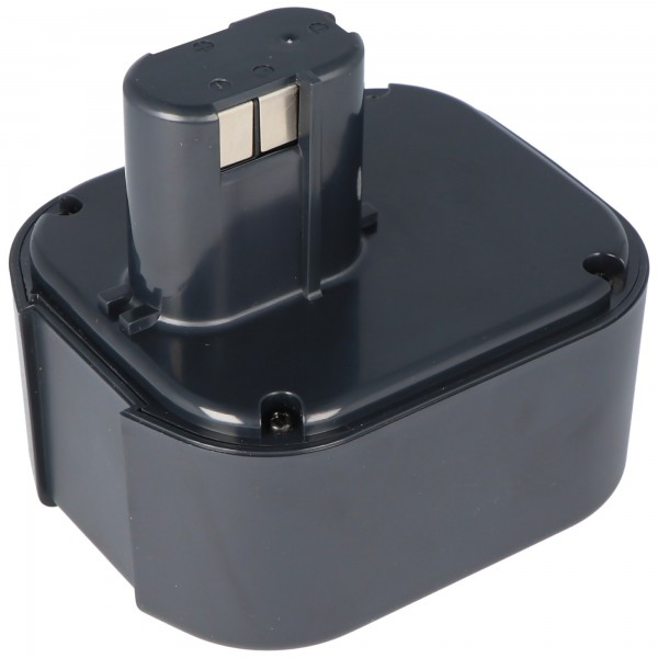 AccuCell-batterij geschikt voor Hitachi EB24B, EB2430H NiMH-batterij