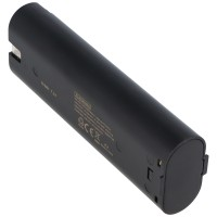 Batterij geschikt voor Makita 7000, 7001, 7002, 7033 7.2V, 3.0Ah NiMH