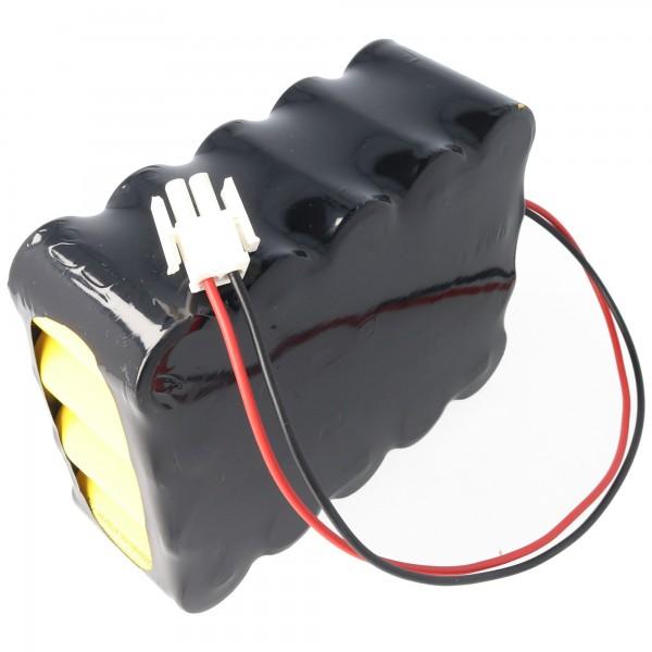 Accu geschikt voor FELCOtronic 82/101, 82 / 82A 3000mAh NiCd