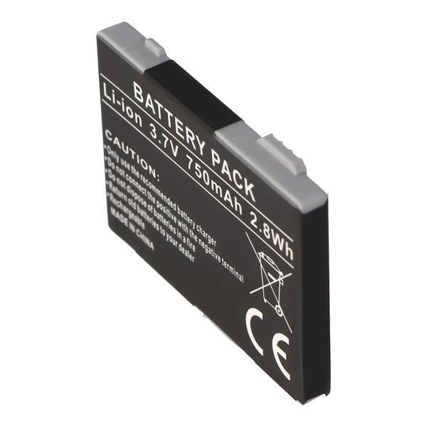 AccuCell-batterij geschikt voor Siemens C65C, 750mAh