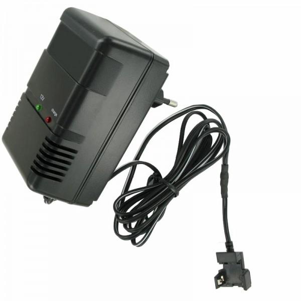 Snellader met clipcontact geschikt voor de Panasonic LC-S122AG batterij MP1220