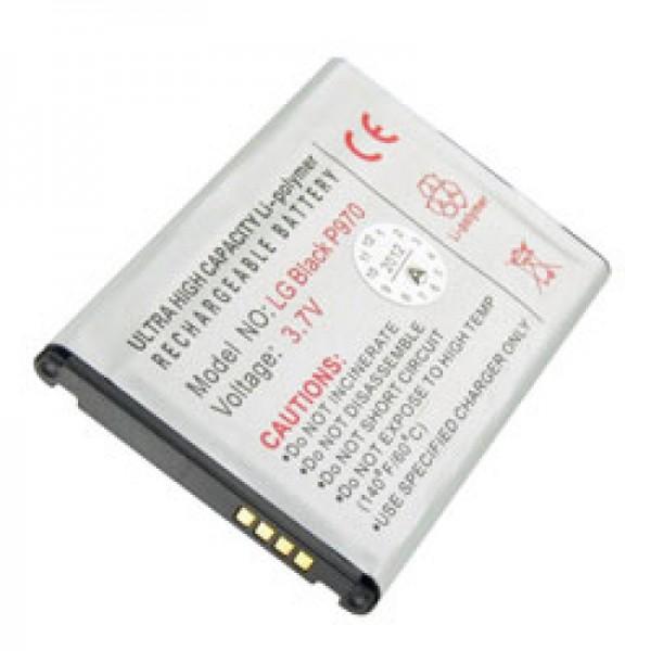 AccuCell-batterij geschikt voor LG P970-batterij BL-44JN, BL-44 JN