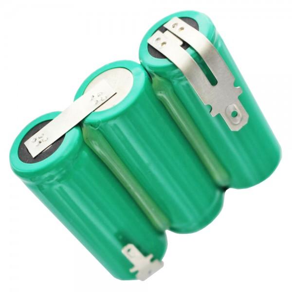 Batterij voor Wolf-gazonschaar Accu 45, 7084000 3,6 volt NiMH 2150mAh