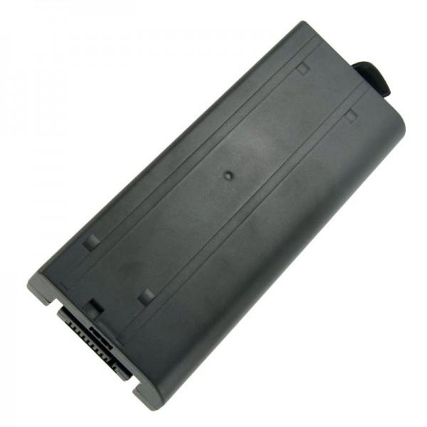 Accu geschikt voor Panasonic ToughBook CF-18, CF18, CF-VZSU30, 7400mAh