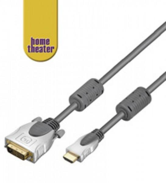 HDMI Home Theater HDMI -> DVI-D-connector 7,5 meter