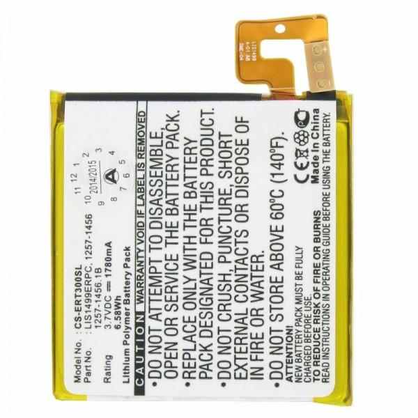 AccuCell-batterij geschikt voor Sony Ericsson Handy Xperia T, TL, LT30a, LT30i, Mint