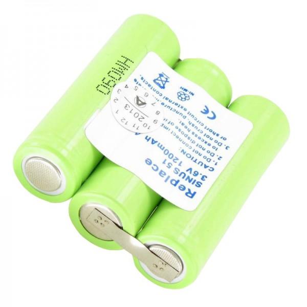 AccuCell-batterij geschikt voor Ascom Samba, Beocom 5000, T Sinus 51