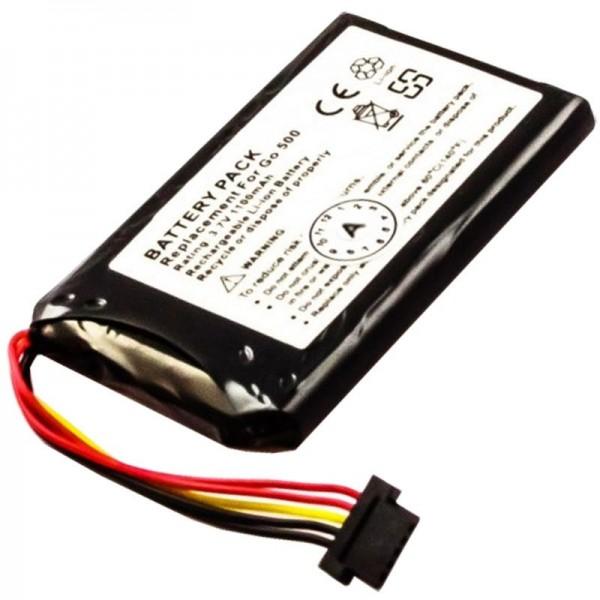 Batterij geschikt voor TomTom Go550, Go550 Live, 8CP5.011.11, P11P11-4