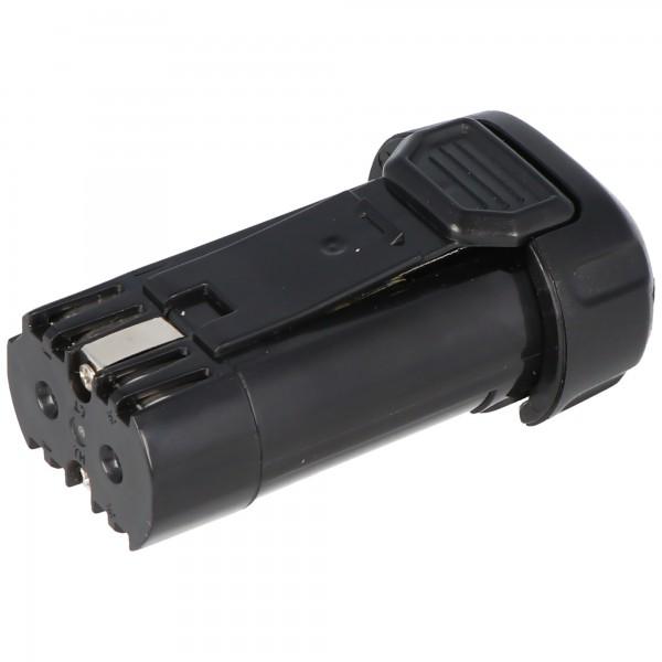 Batterij geschikt voor Dewalt DCB080, DCB095, DCF680, DCF680N1, DCF680N2, DCF682, DCL023, DW4390 batterij 7,2 volt, 8V max. 1000 mAh (nr