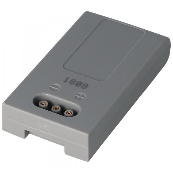 Accu geschikt voor de HÖFT & WESSEL HW19200 accu T26580 / 2, 3.6 volt 1900mAh