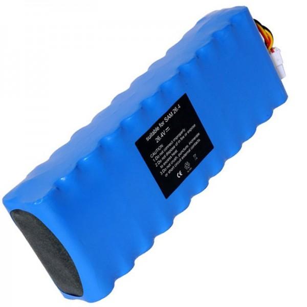 Batterij geschikt voor Samsung Navibot VC-RS60, VC-RS60H, VC-RS62 batterij DJ96-0079A, Ni-MH