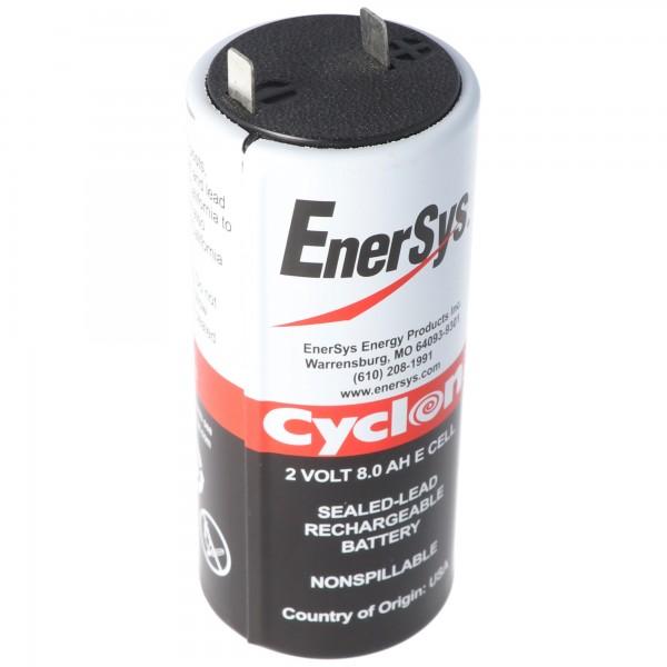 Hawker Cyclon Enersys Cyclon 0850-0004 batterij 8000mAh 2 volt