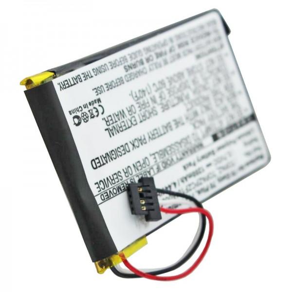 AccuCell-batterij geschikt voor de NAVIGON 70 Easy-batterij, 70 Plus