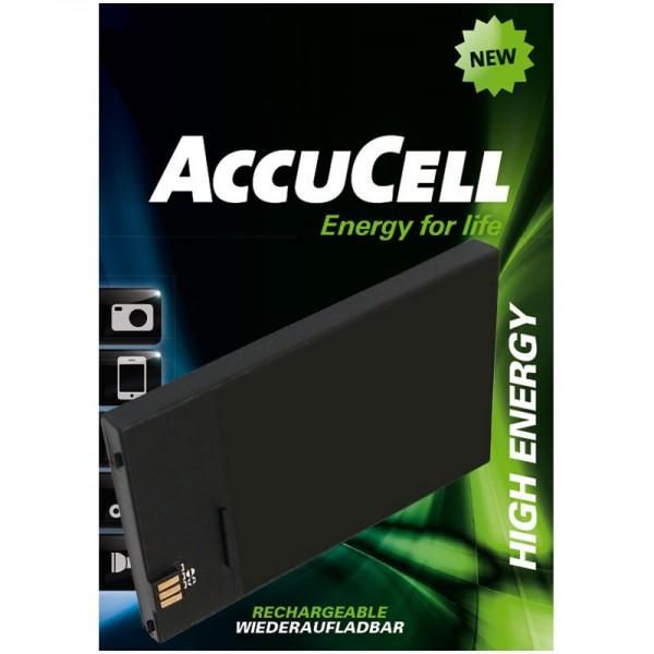 Doro Easy5, Easy5V replica batterij van AccuCell geschikt voor E383451