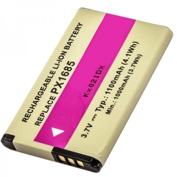 TOSHIBA Camileo S20-batterij PX1685 als vervangende batterij van AccuCell