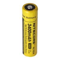 Nitecore Li-ionbatterij type 18650 met 3400 mAh NL1834 69,4 x 18,3 mm met beschermingscircuit