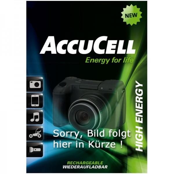 Accu geschikt voor Mitac Mio Moov 500, Mio Moov 510, Mio Moov 560, Mio Moov 580