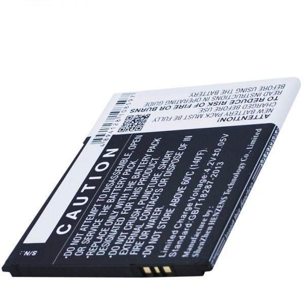 Accu geschikt voor BQ Aquaris 5.0 HD B20 Li-ion 3.7 volt 2000mAh