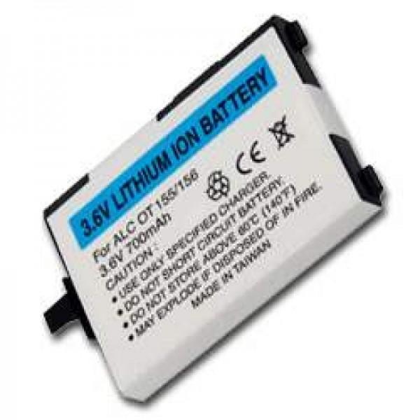 AccuCell-batterij geschikt voor Alcatel One Touch 155, 156