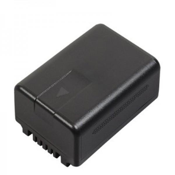 Panasonic VW-VBT190E-K Originele batterij VW-VBT190, HC-VXF999, HC-VX878, HC-VX989, HC-V110, HC-V130, HC-V160, HC-V180, HC-V210, HC-V250, HC- V270, HC-V380, HC-V510, HC-V550, HC-V727, HC-V757, HC-V777, HC-W