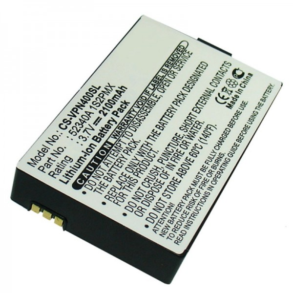 Accu geschikt voor VDO DAYTON BAT-4060, PN4000, PN4000-TSN, 52340A 1S2PMX
