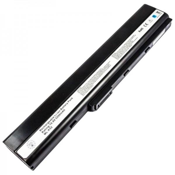 Asus A52, K42, K52, K53 replica batterij van AccuCell met 58Wh en 5200mAh