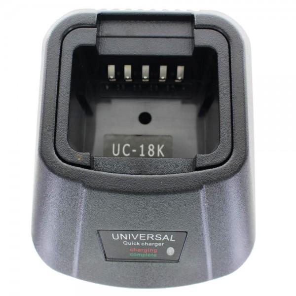 Lader geschikt voor batterij Motorola P60, SP50 +, SP21, SP10, RADIUS HT10, SP50, P50 LOW POWER, CP50, HNN9018AR, HNN9044A, HT10, P