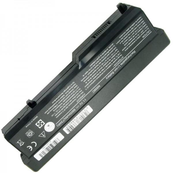 Batterij geschikt voor Dell Vostro 1310, Vostro 1320, 312-0725 11.1 volt 6600mAh