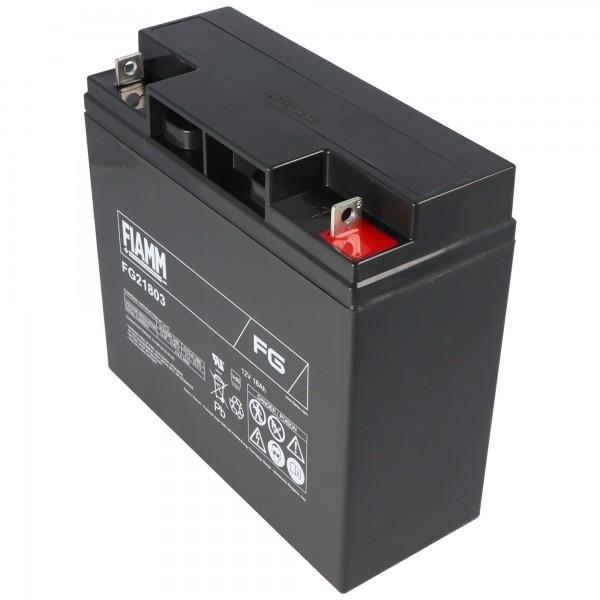 Fiamm FG21703 PB loodbatterij 12 volt en met 17 Ah