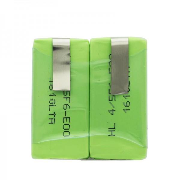 Batterij geschikt voor Sanyo 2 x HF-C1U batterij NiMH met LF-90 ° Crad