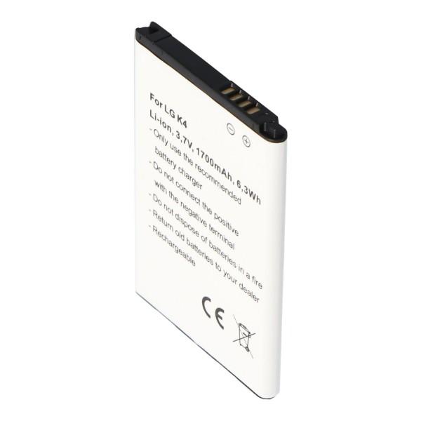 Accu geschikt voor de LG BL-49JH accu EAC63138801, K4. K4 Dual SIM LTE