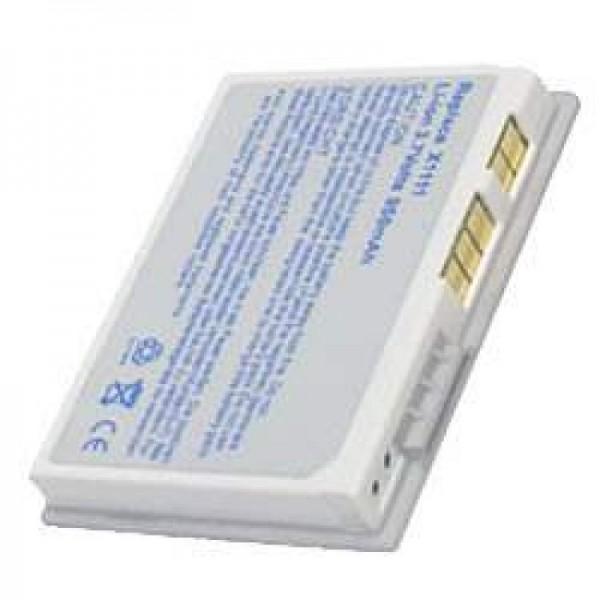 AccuCell-batterij geschikt voor Dell Axim X3, X3i, X30 zilver
