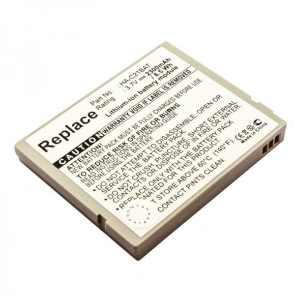 AccuCell-batterij geschikt voor Casio IT-10 HA-C21BAT batterij