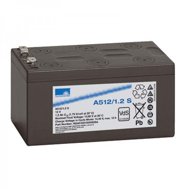 Sonnenschein A512 / 1.2S loodbatterij PB 12 volt 1,2Ah