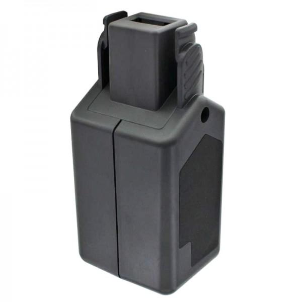 Accu geschikt voor Wolf Garten GTB 815 accu HSA 45 V, 7420090, 7420072, 18 volt 2.5Ah