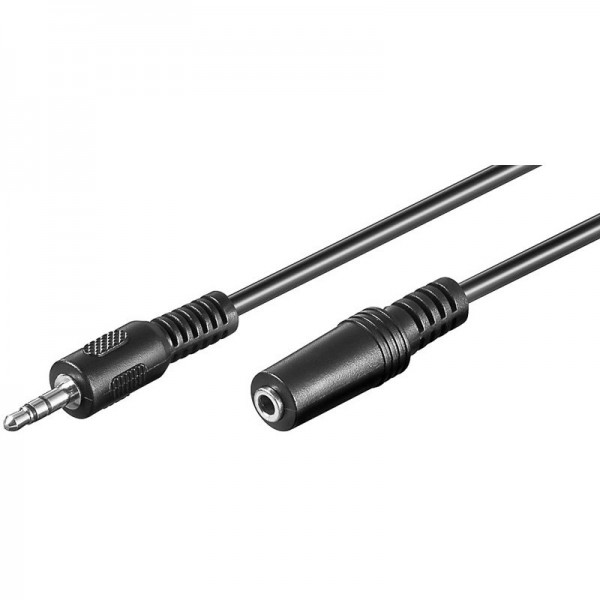 Audio-videokabel 10,0 m 3,5 mm stekker naar 3,5 mm koppeling