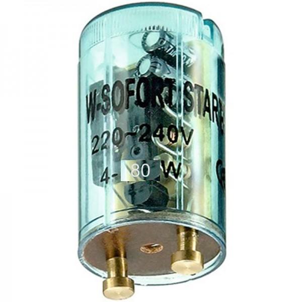 Starter voor fluorescentielampen 4 - 80 watt