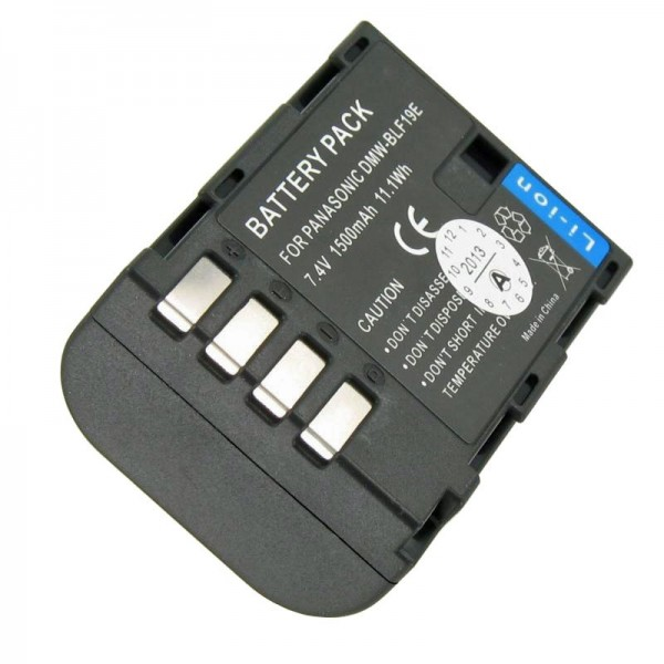 Accu van DMW-BLF19E-kwaliteit van AccuCell geschikt voor Panasonic DMC-GH3, Lumix DMC-GH3A