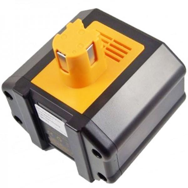 AccuCell-batterij geschikt voor Panasonic EY6812 24 volt batterij NiMH 2000mAh