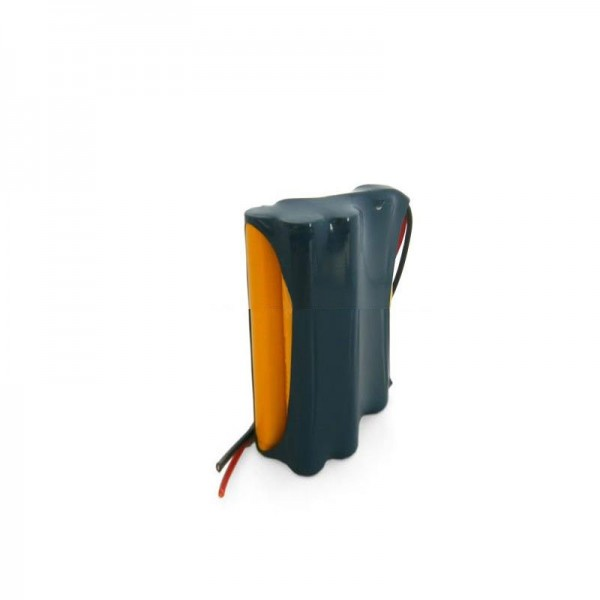 Replica-batterij als vervangende batterij voor het Geze 14.4V NiCD-batterijpakket met kabel