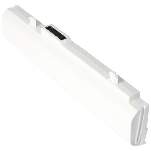 AccuCell-batterij geschikt voor Asus A32-1015 wit, A31-1015 4400mAh