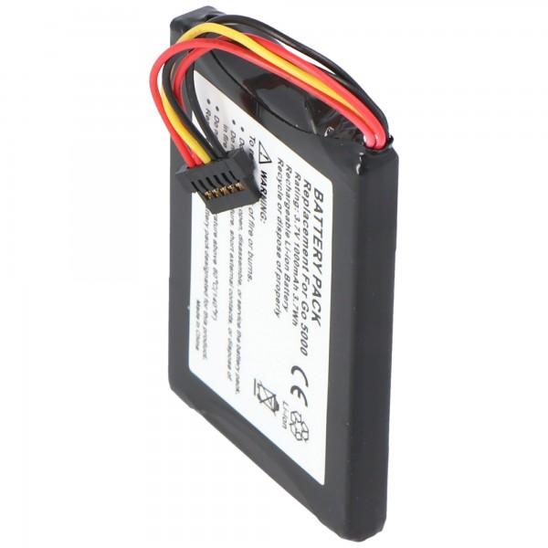 Batterij geschikt voor de TomTom VFAD batterij AHA11111008 TomTom Go 5000 batterij Go 6000