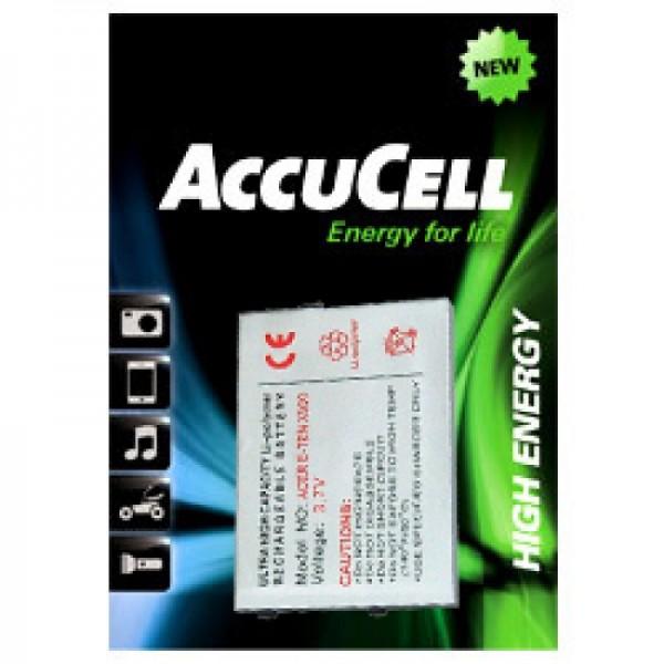 AccuCell-batterij geschikt voor E-TEN glofiish M700, X500-batterij