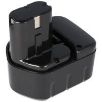 AccuCell NiMH-batterij geschikt voor Hitachi 12Volt 2.0Ah EB1220BL